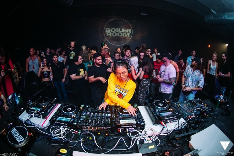 Ms. Mada on III Points 2019's Boiler Room stage.