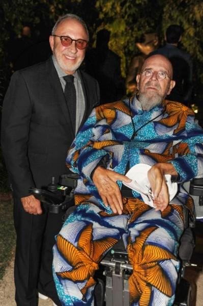 Emilio Estefan & Chuck Close