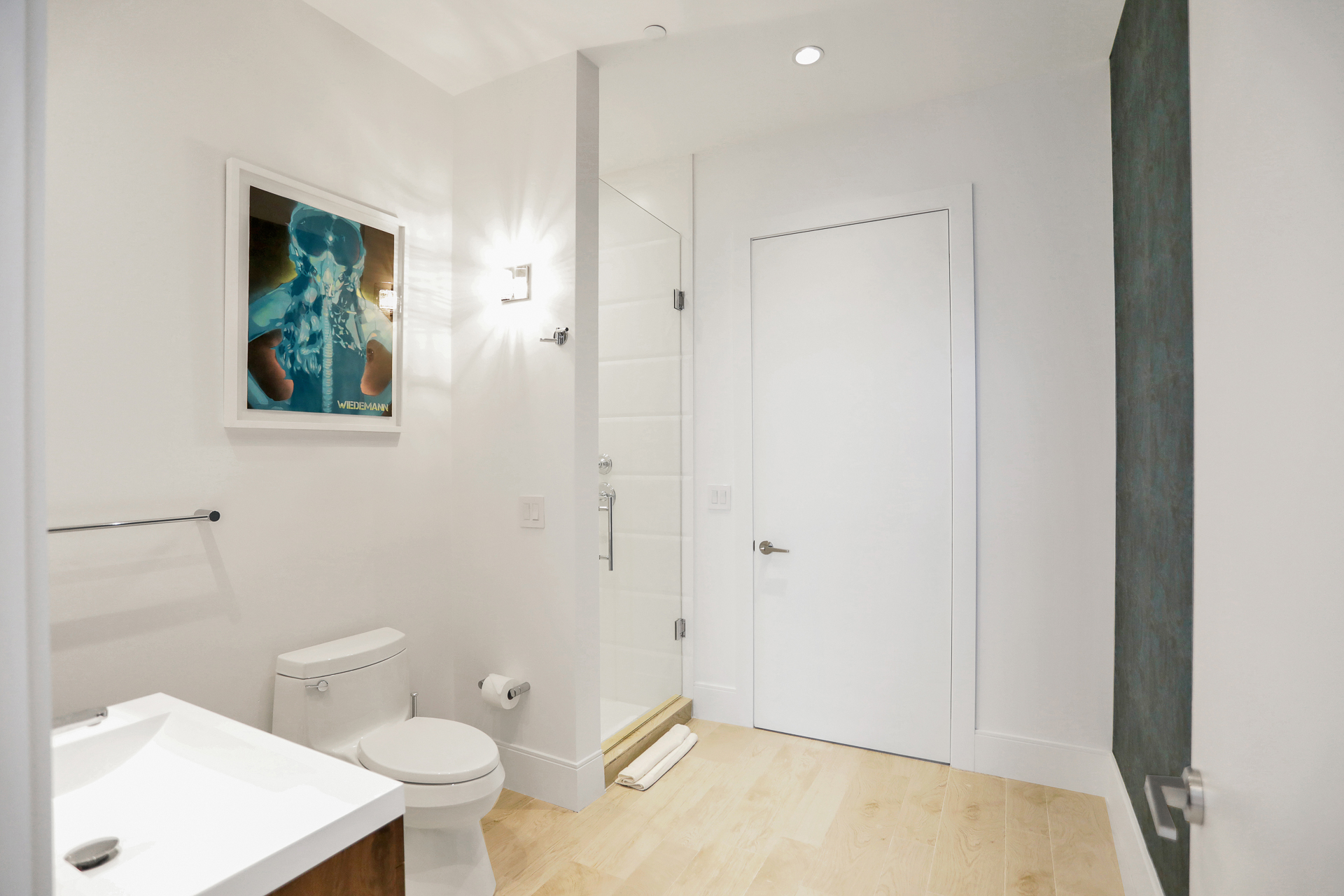 remodeled second bathroom