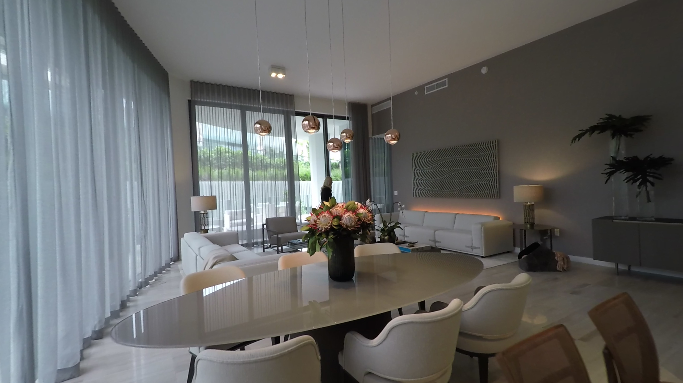 Two Park Grove unit 4D furnished by Artefacto