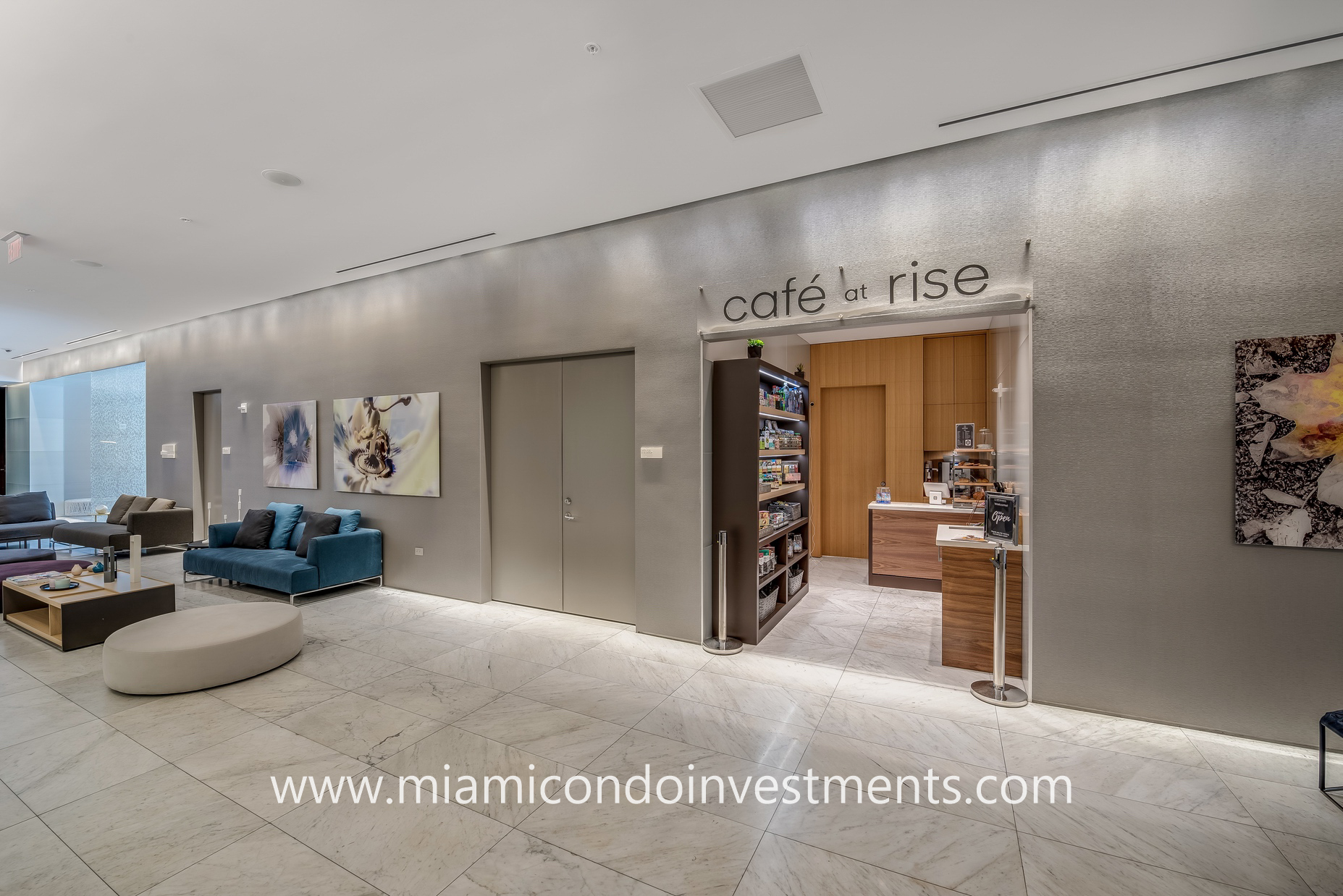 cafe at Rise Brickell City Centre