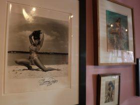 Bunny Yeager y Eurídice Desmitificar la Erótica Con Kitty Brophy en Swampspace Galería