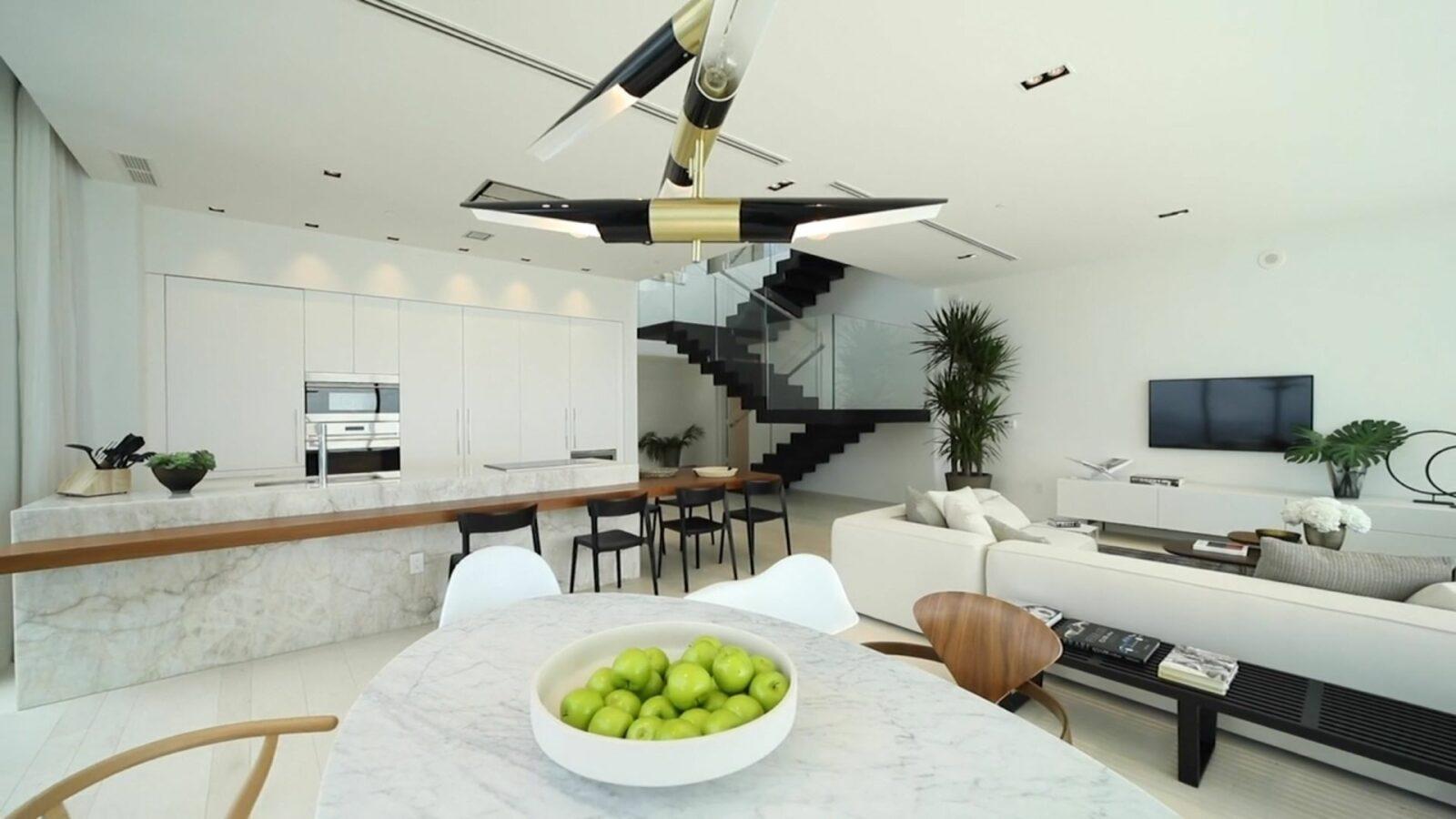 David Guetta's Miami penthouse at Paraiso Bay