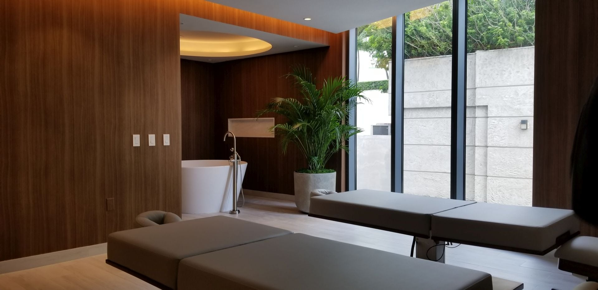 couples treatment room at Park Grove