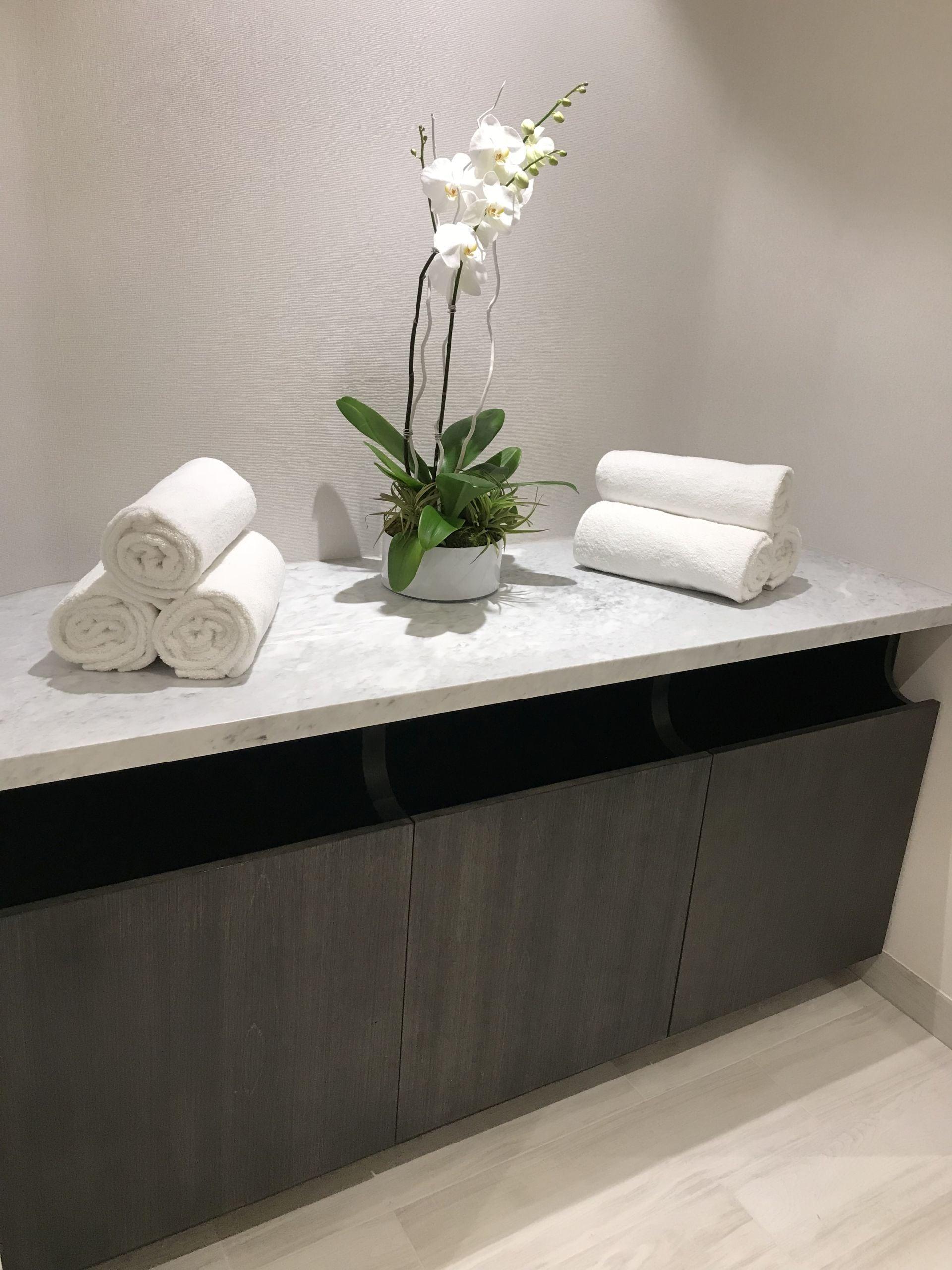 spa towels at Park Grove