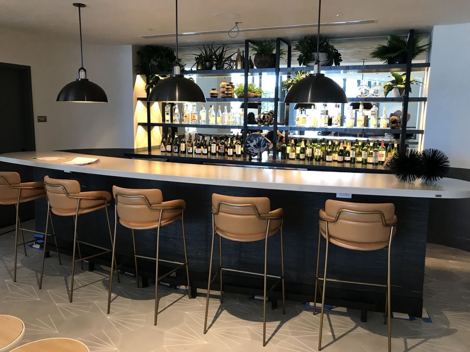 poolside bar at Park Grove