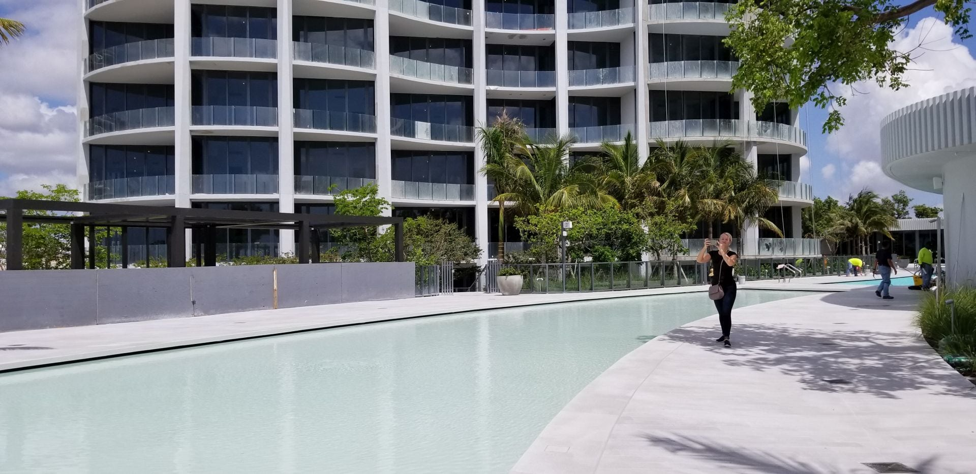 pool deck at Park Grove
