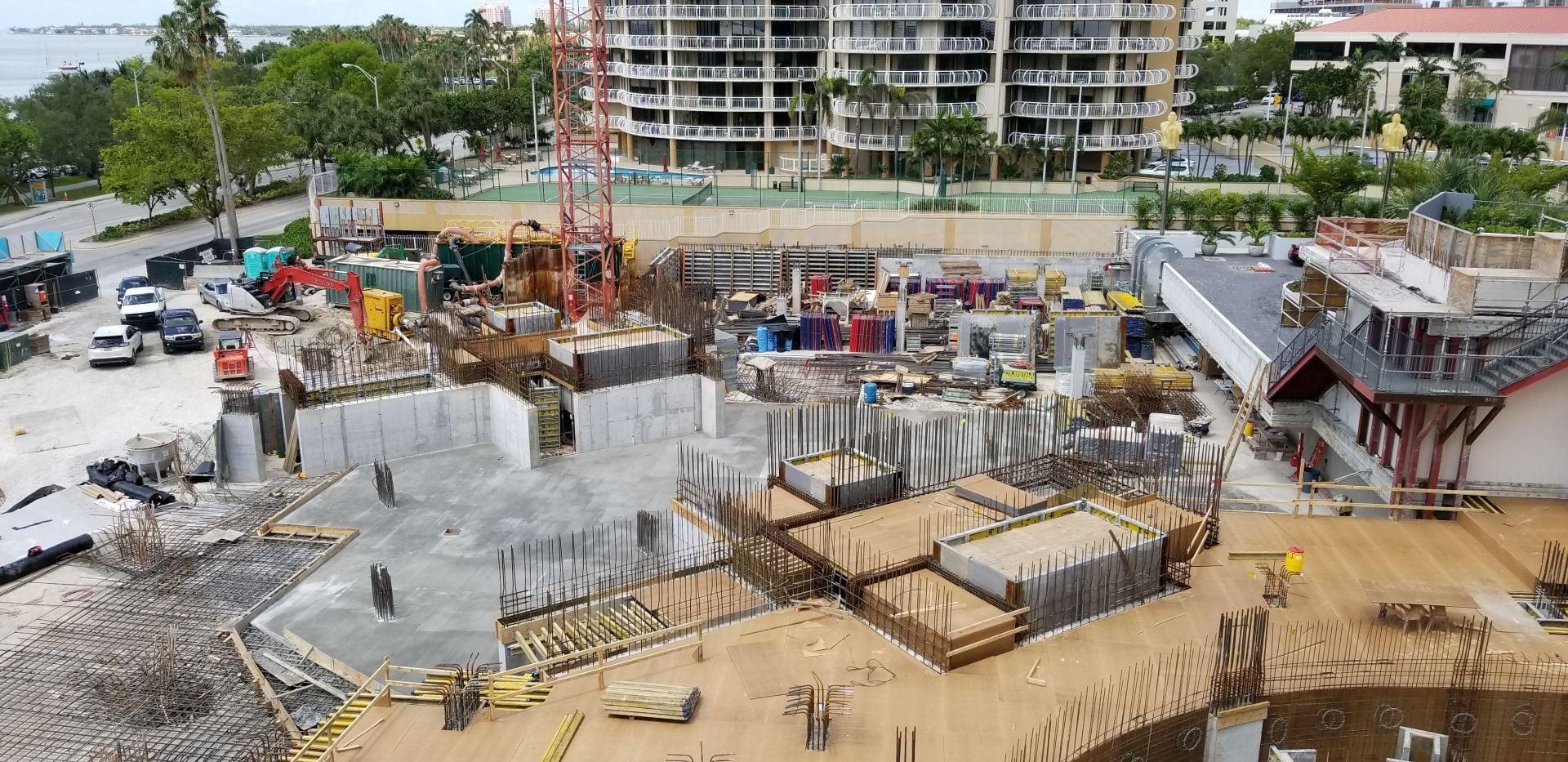 One Park Grove construction