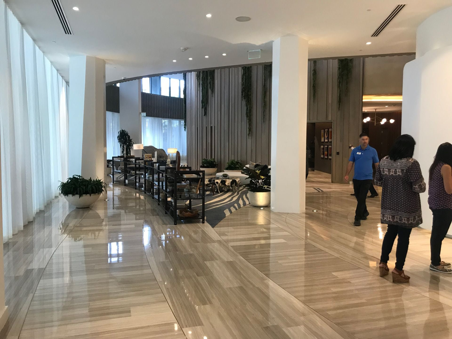 Park Grove Club Residences lobby