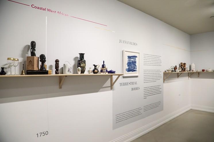 "Juana Valdes Explores ""Terrestrial Bodies"" in New Exhibit at Freedom Tower"