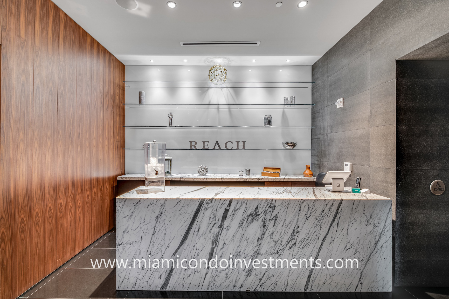full-service spa at Reach Brickell City Centre