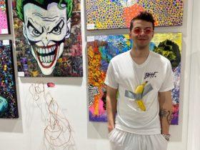 Miami Abraza a los $120,000 Art Basel de Plátano