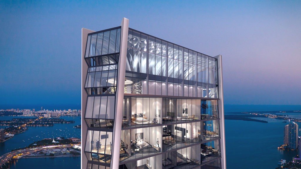One Thousand Museum penthouse