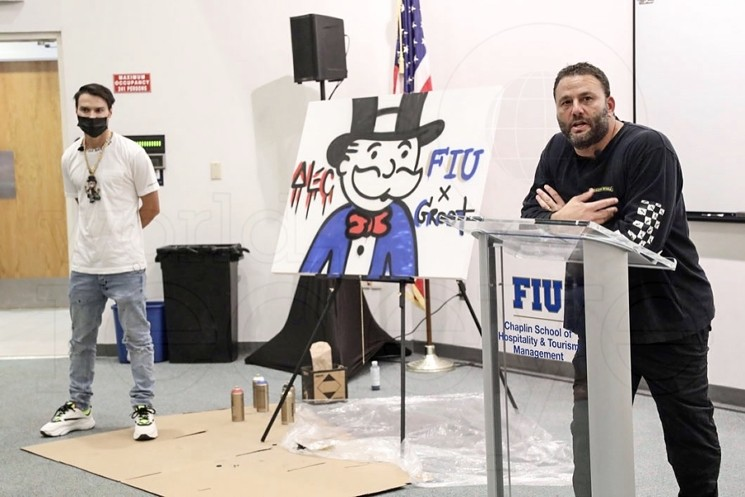 Alec Monopoly & David Grutman