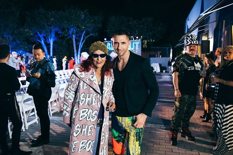 Event producer Jake Resnicow (right) is the man behind Patricia Field's ArtFashion runway show.