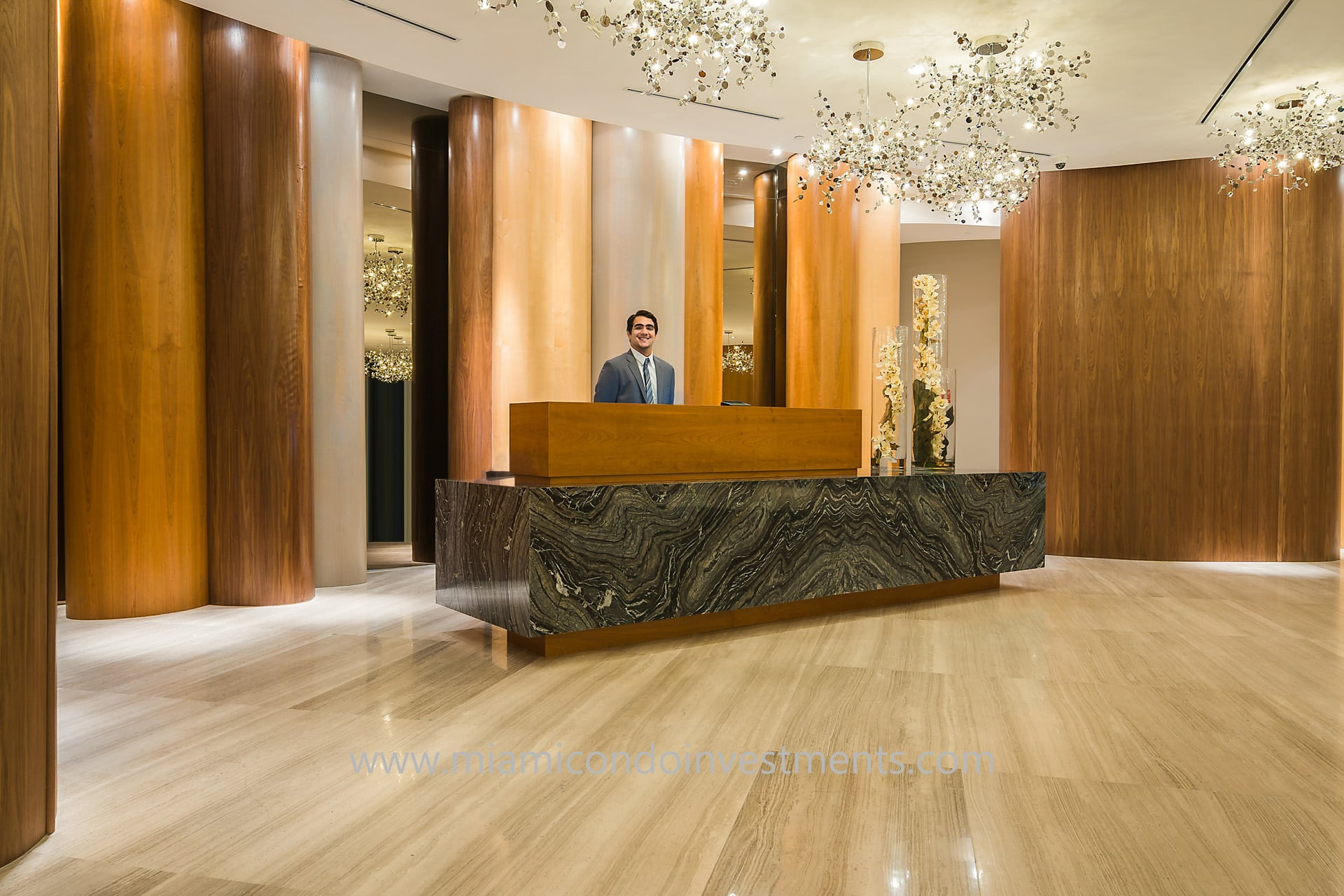 Aria on the Bay concierge