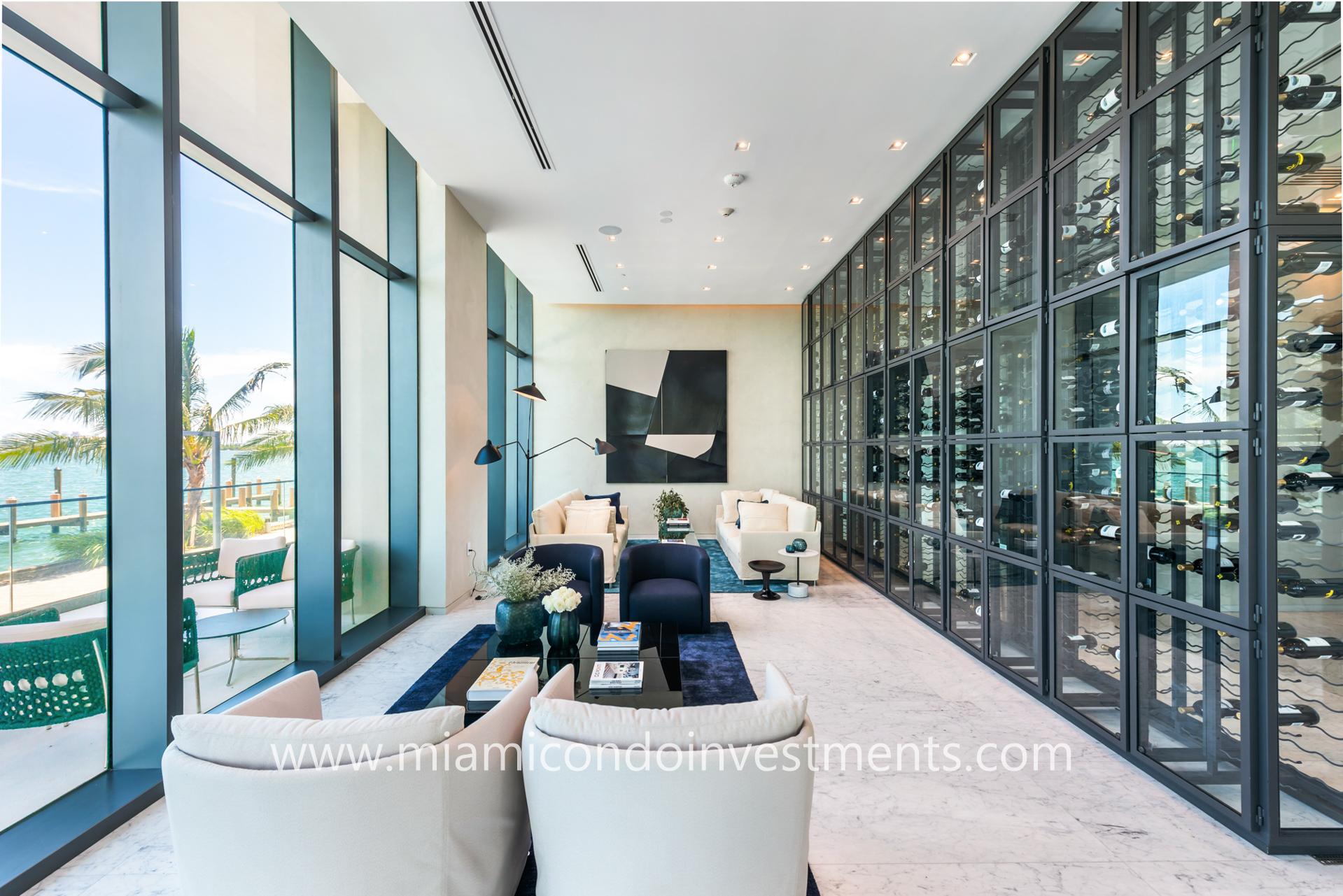 One Paraiso wine room