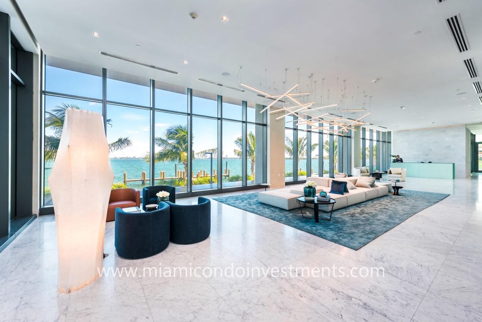 One Paraiso lobby
