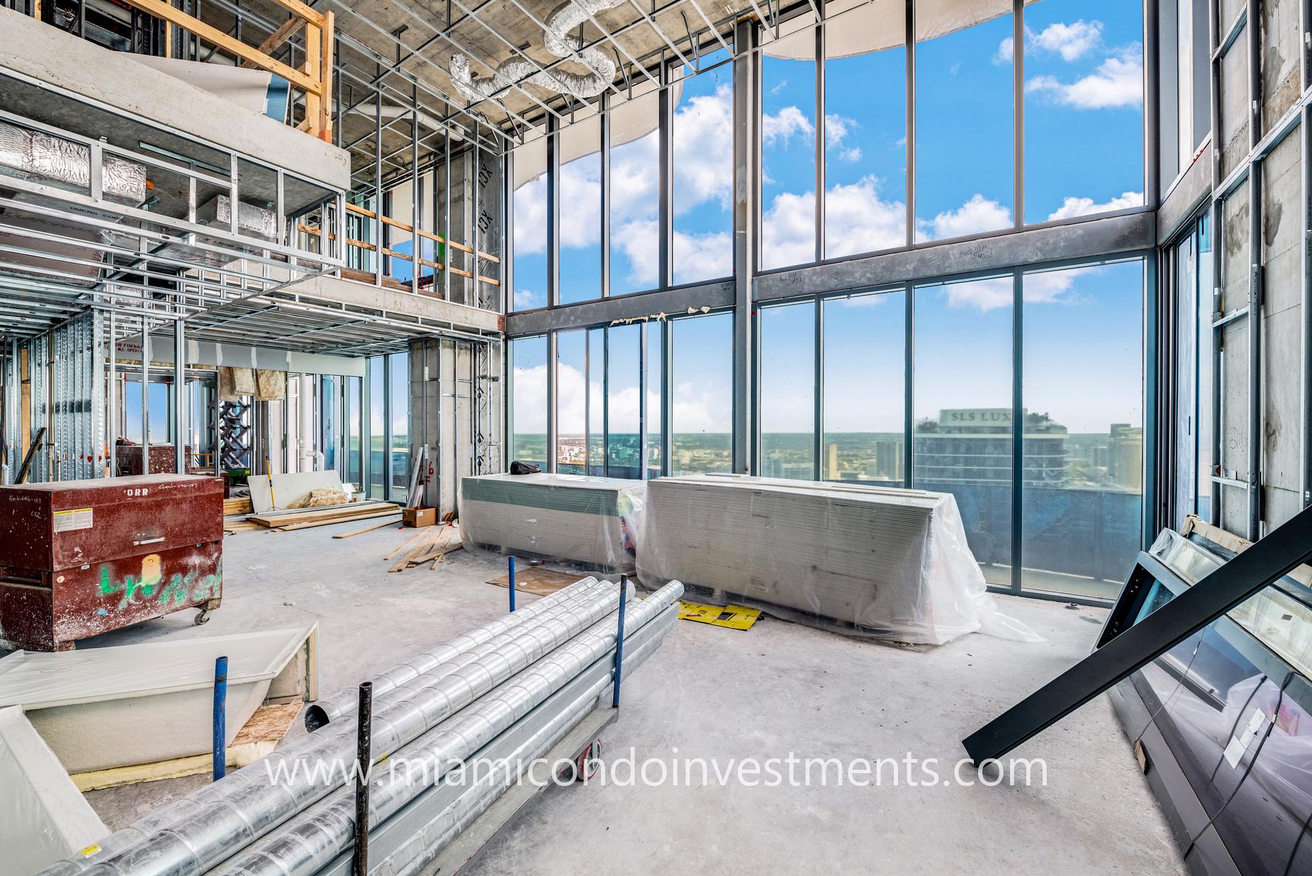 penthouse construction