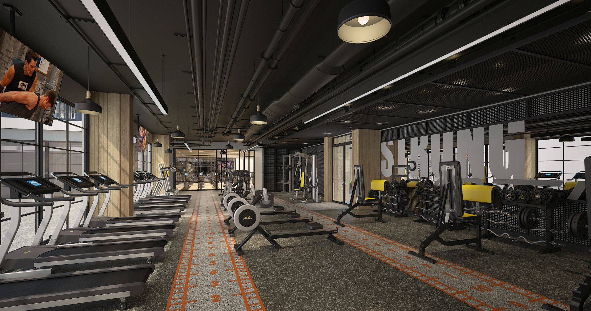 Wynwood 25 fitness center