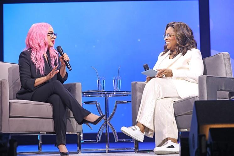 Lady Gaga y Oprah