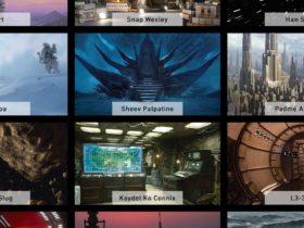 Organice su próxima llamada Zoom desde la Estrella de la Muerte con estos divertidos fondos de Star Wars