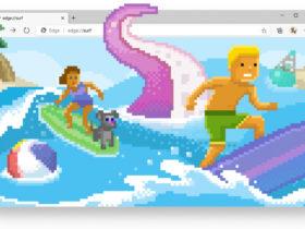Ahora puedes jugar al nuevo juego de surf de Microsoft dentro del navegador Edge