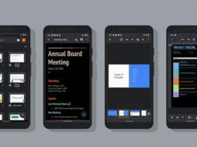 Google Docs, Sheets y Slides ahora tienen un tema oscuro en Android