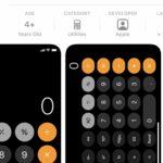 Hoy me enteré que la calculadora iOS tiene modo científico