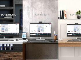 Los nuevos monitores de Dell tienen un botón dedicado de Microsoft Teams