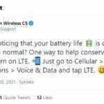 El soporte de Verizon dice que debe apagar 5G para ahorrar batería de su teléfono