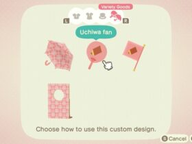 La próxima actualización de Animal Crossing: New Horizons le permitirá diseñar un paraguas personalizado